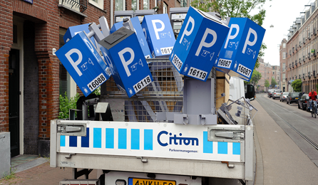 Schending privacy autoparkeerders